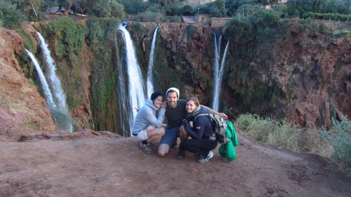 Wandern an den Wasserfällen