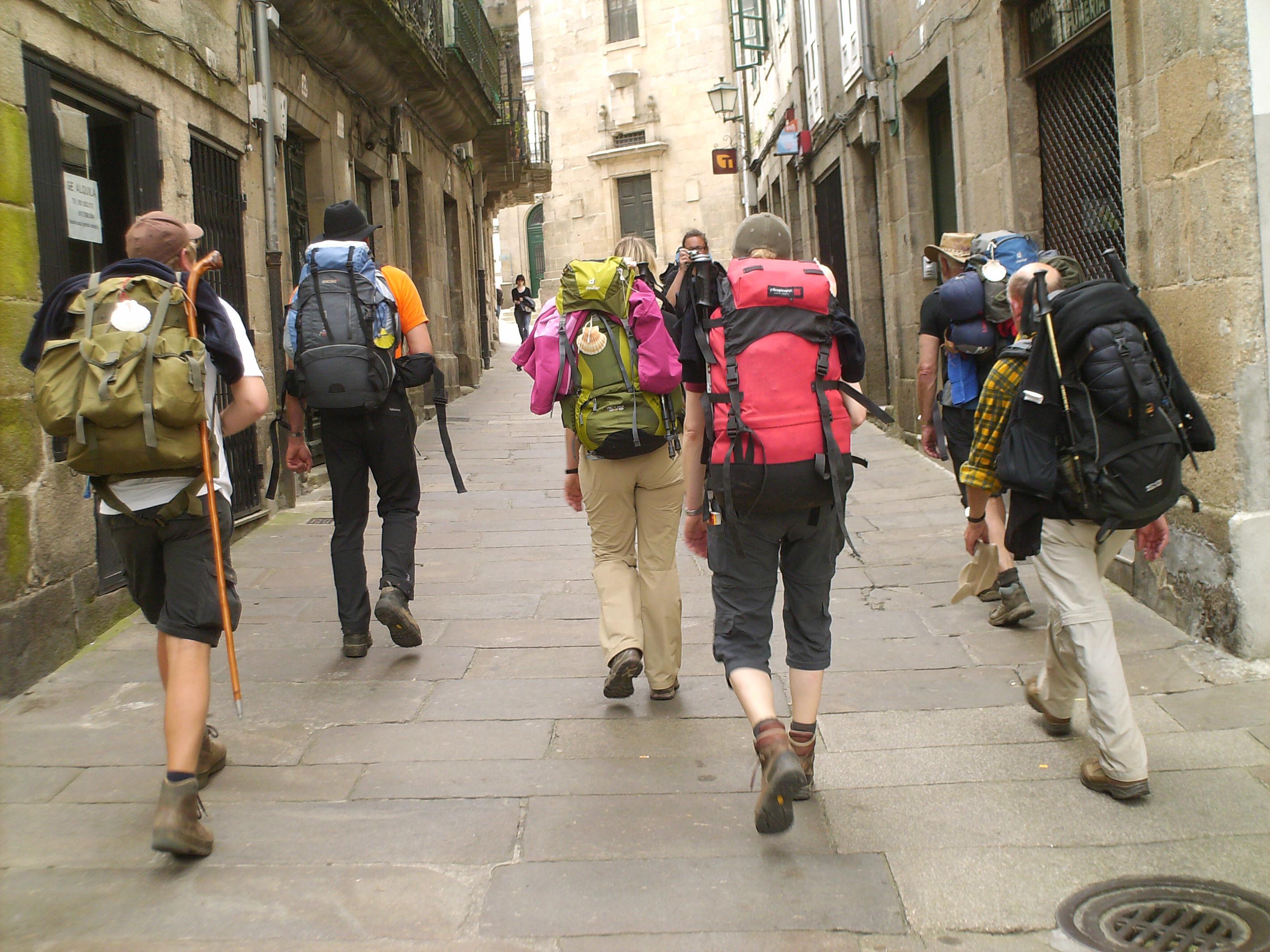 Einlaufen in Santiago.