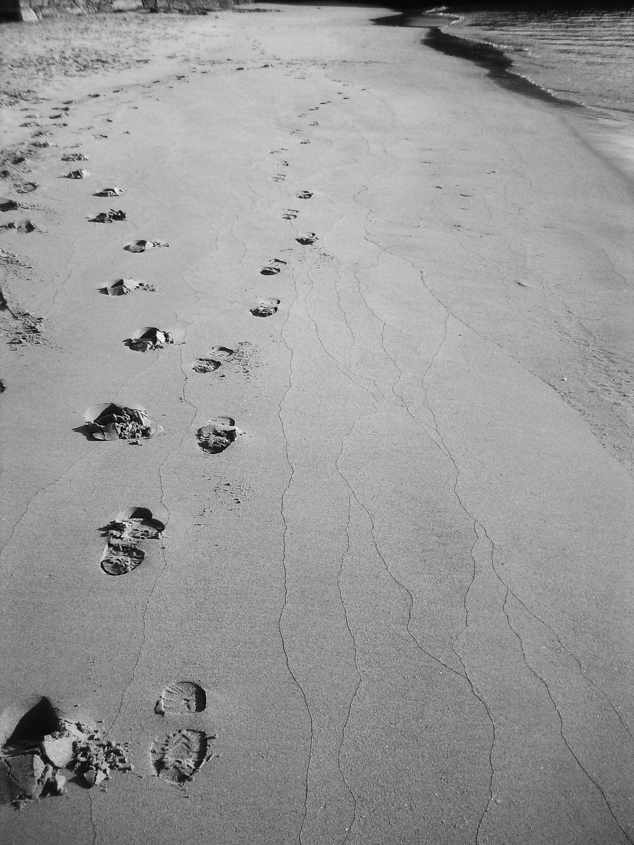 leave nothing but footprints.
